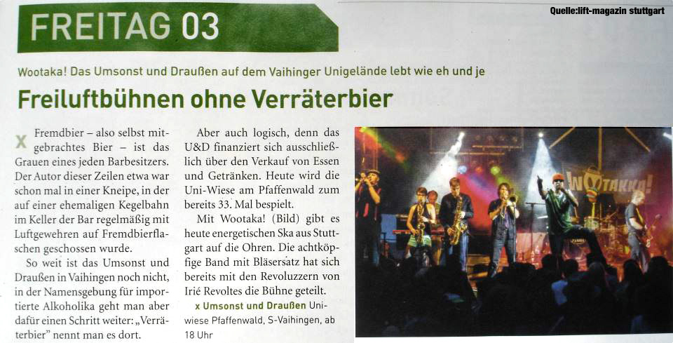LIFT Magazin 08/2012